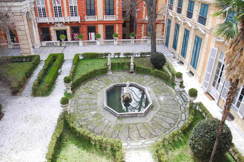 genova 5 tappe irrinunciabili giardini pensili palazzo bianco