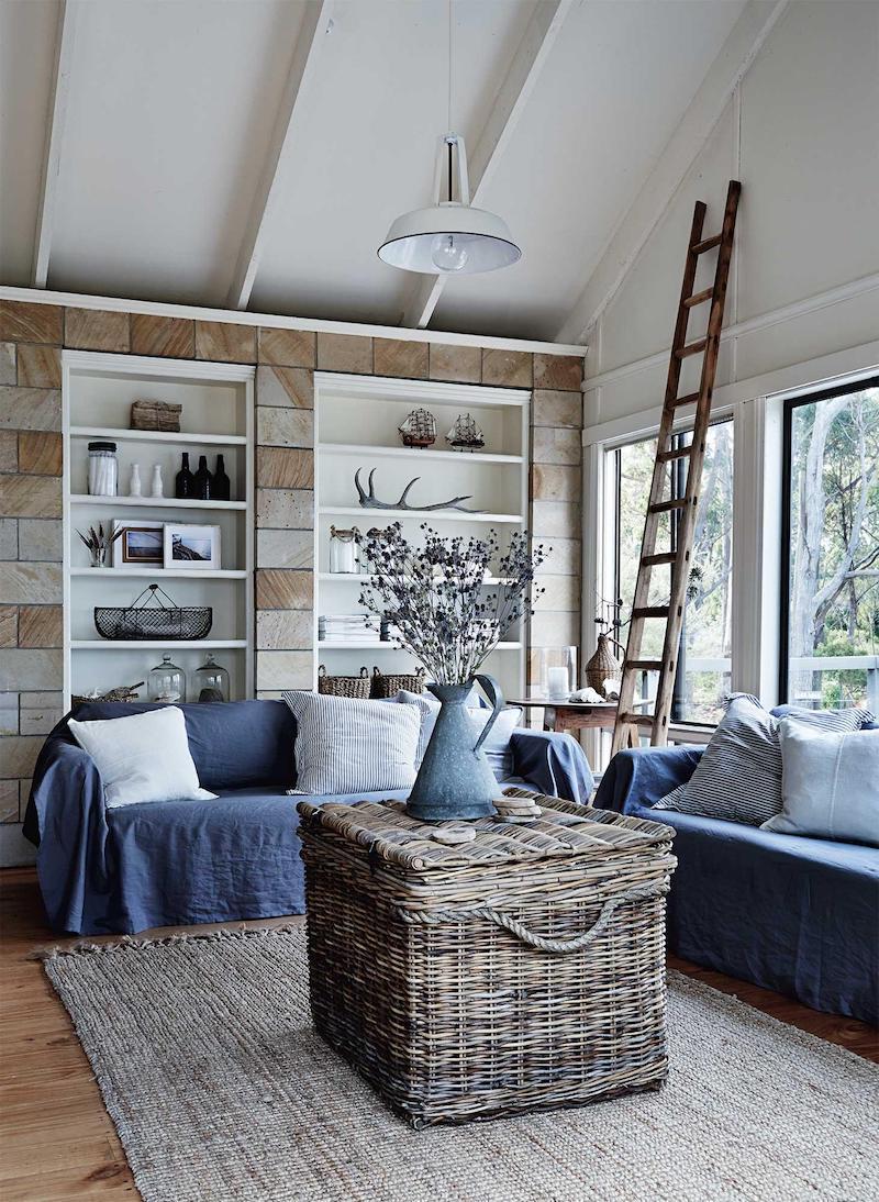 cottage in Tasmania soggiorno