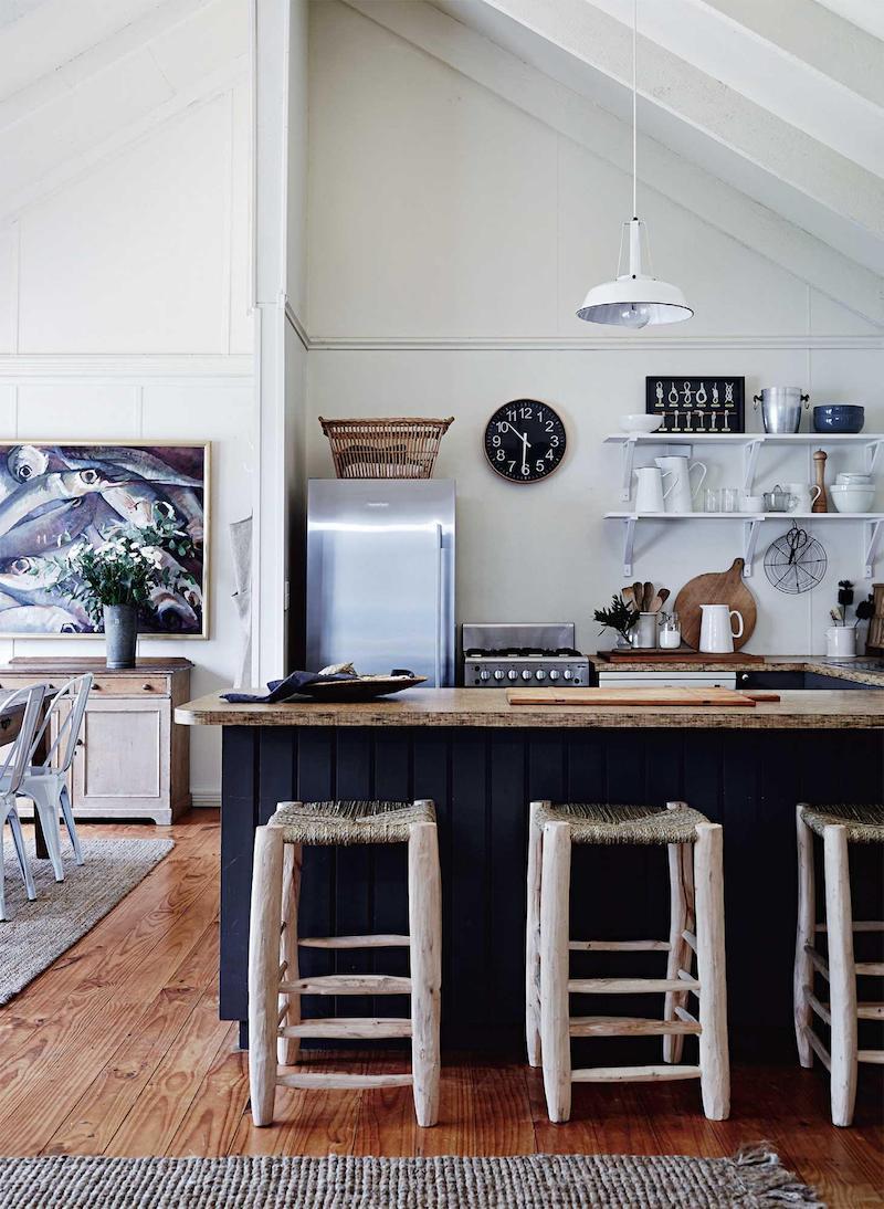 cottage in Tasmania cucina