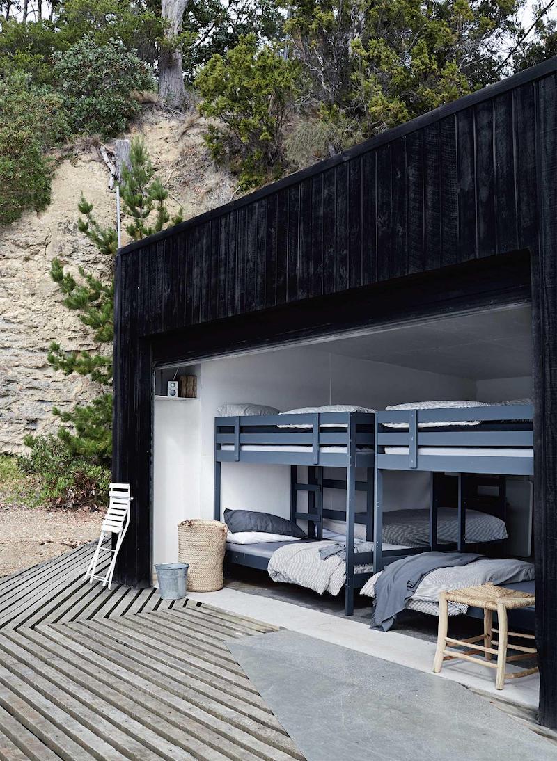 cottage in Tasmania camere da letto