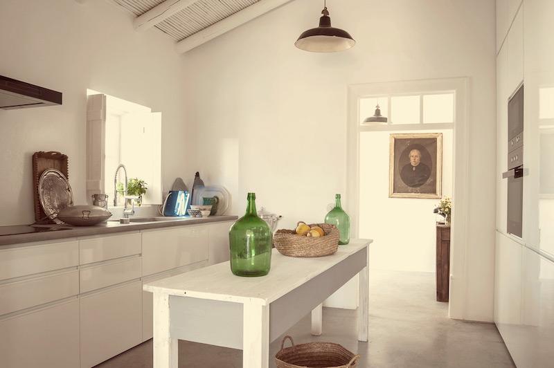 summer-house-fattoria-algarve pensao agricola cucina