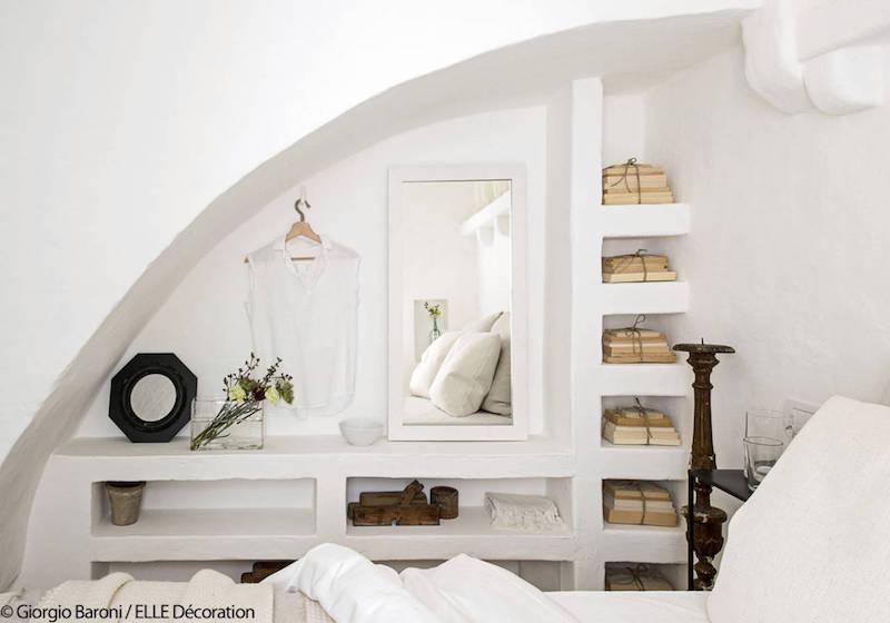 una casa tutta bianca in puglia nicchie