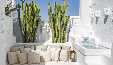 una casa tutta bianca in puglia esterno