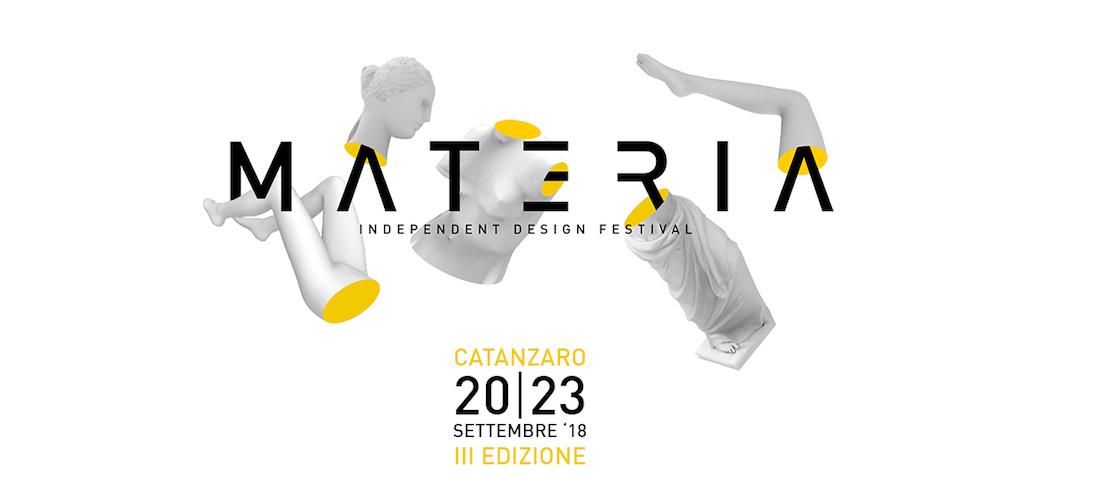MATERIA: appuntamento con il design a Catanzaro