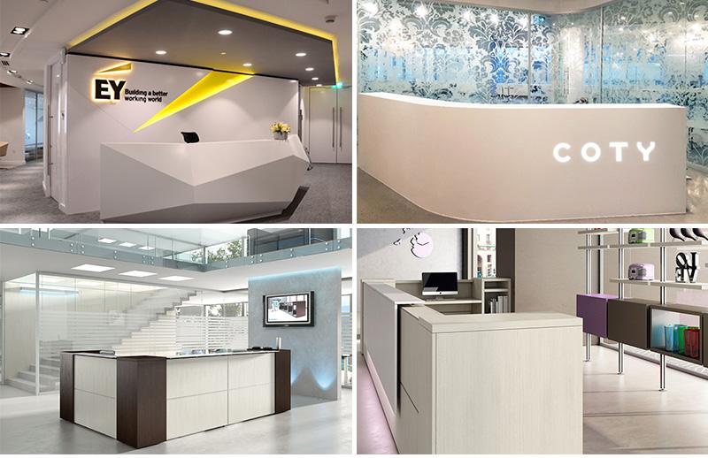 Mobili-reception-ufficio bancone