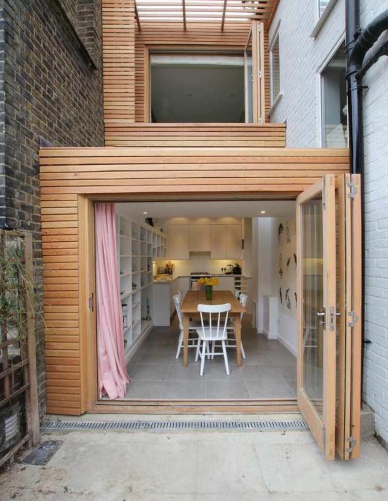 ampliamento casa come fare legno