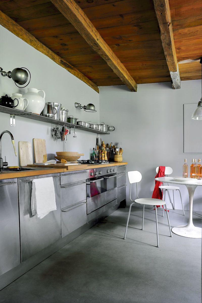 casa a graticcio cucina