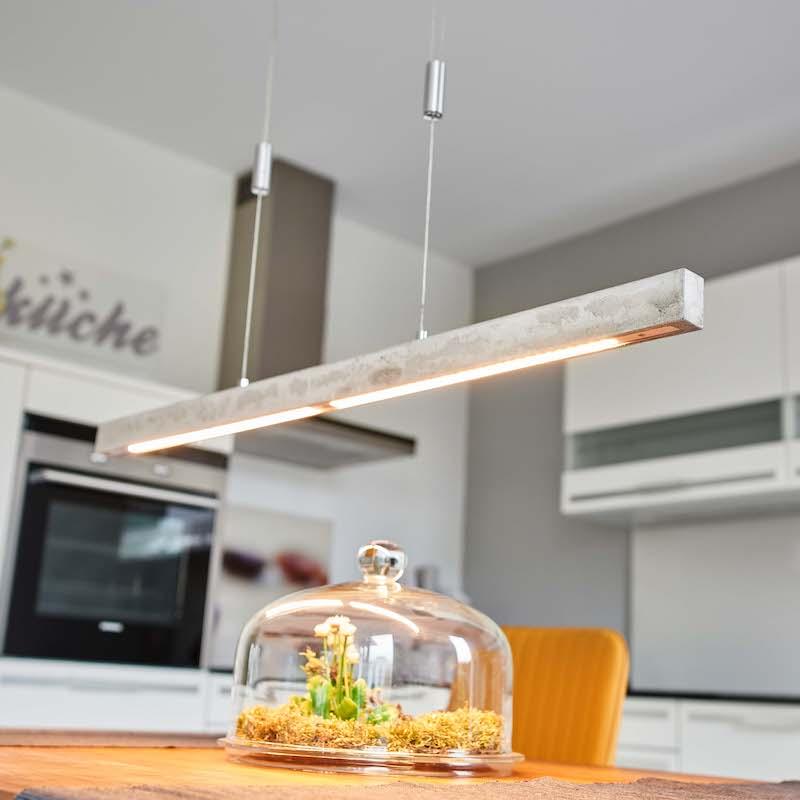 corretta illuminazione per il living open space