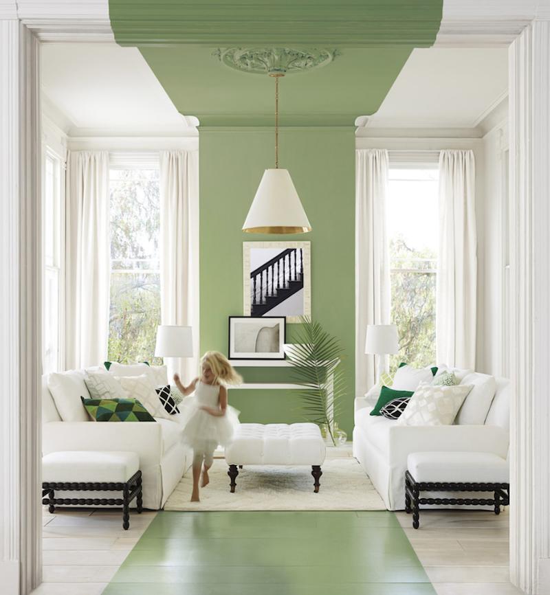 Dipingere le pareti con il color blocking