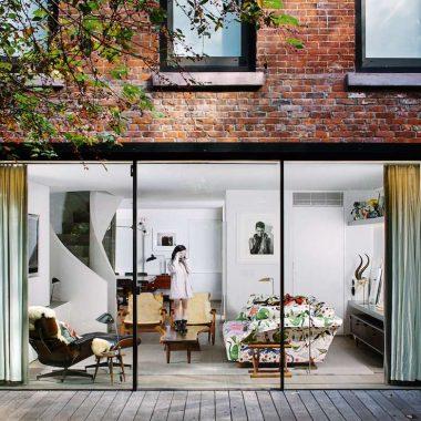 Porte finestre scorrevoli una scelta di stile