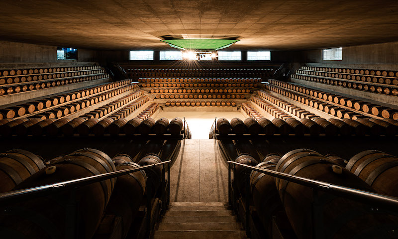 Visite alle cantine di design Rocca di Frassinello Renzo Piano