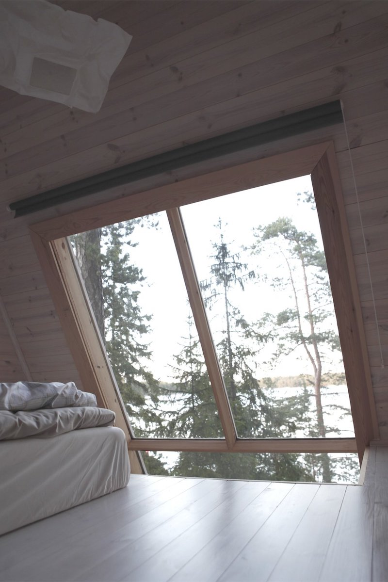 Summer house due bungalow in Finlandia