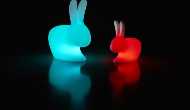 Qeeboo rabbit lamp