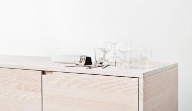 Reform presenta UP la cucina in legno riciclato