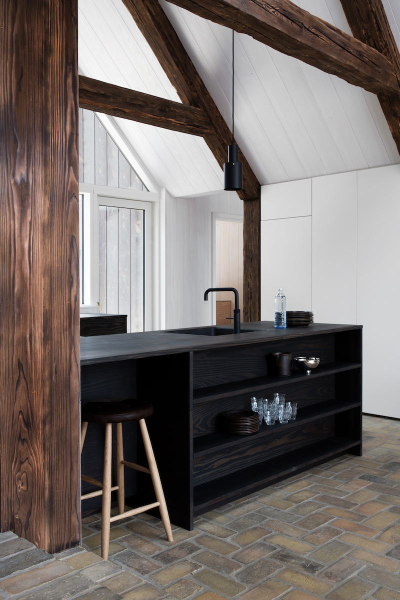 Reform presenta UP, la cucina in legno riciclato | La gatta sul tetto