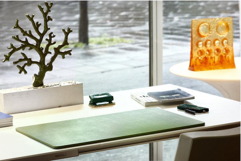 Set da scrivania in pelle un classico intramontabile sottomano maruse pelletteria