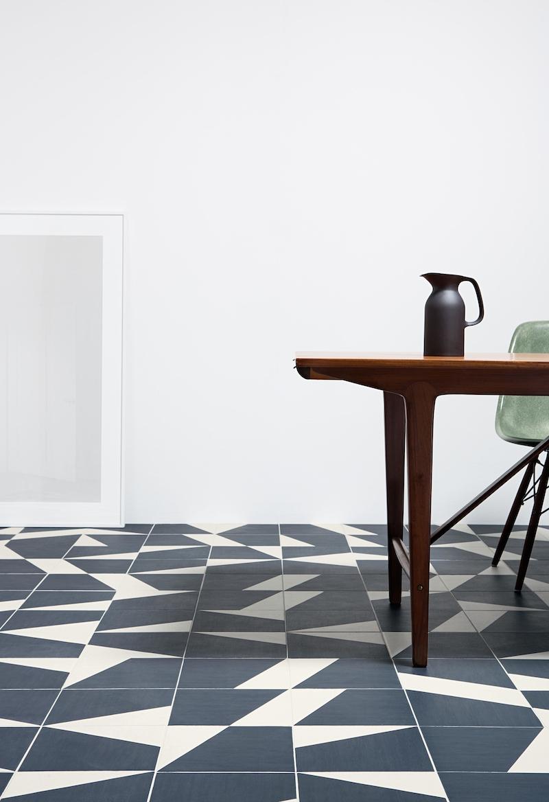 Cambiare il pavimento per rinnovare la casa piastrelle geometriche