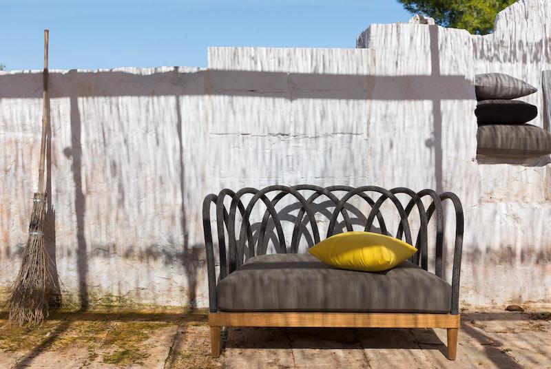 icone del design di Unopiu divano Les Arcs
