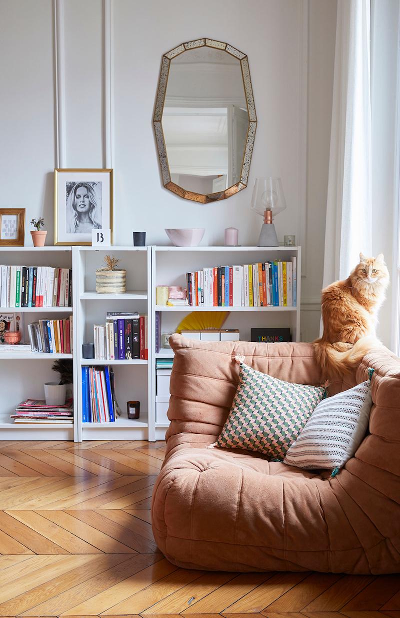 appartamento parigino arredato con personalita