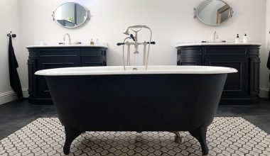 eleganza del nero hotel particulierBordeaux vasca free standing nera