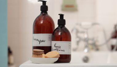 etichette per i prodotti di bellezza DIY