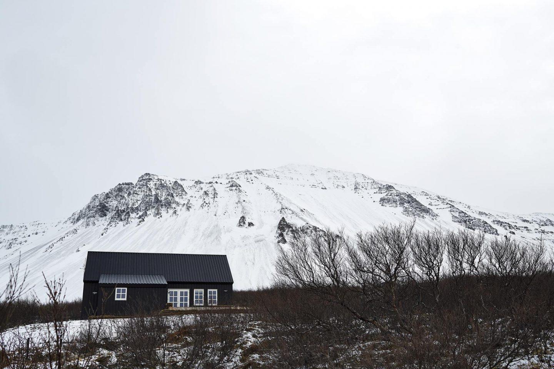 Un cottage tradizionale in Islanda