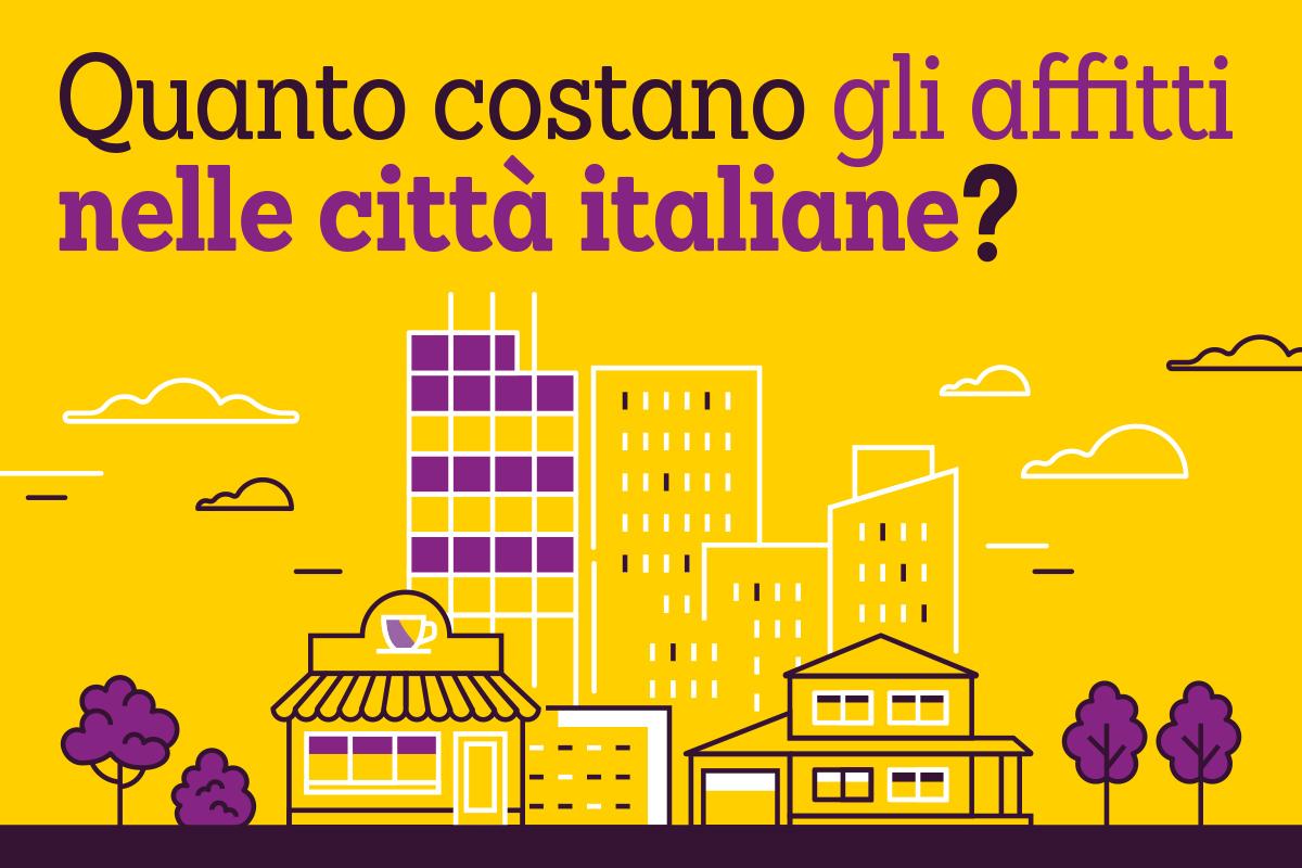 affitti in Italia infografica