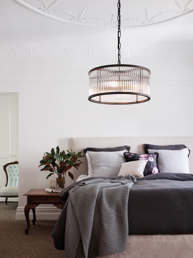 Lampade a sospensione in camera da letto