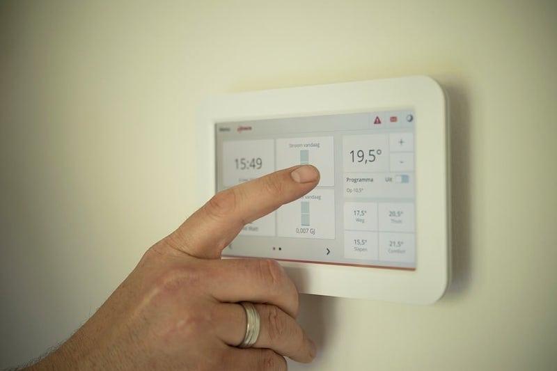 Riscaldamento smart termostato senza fili