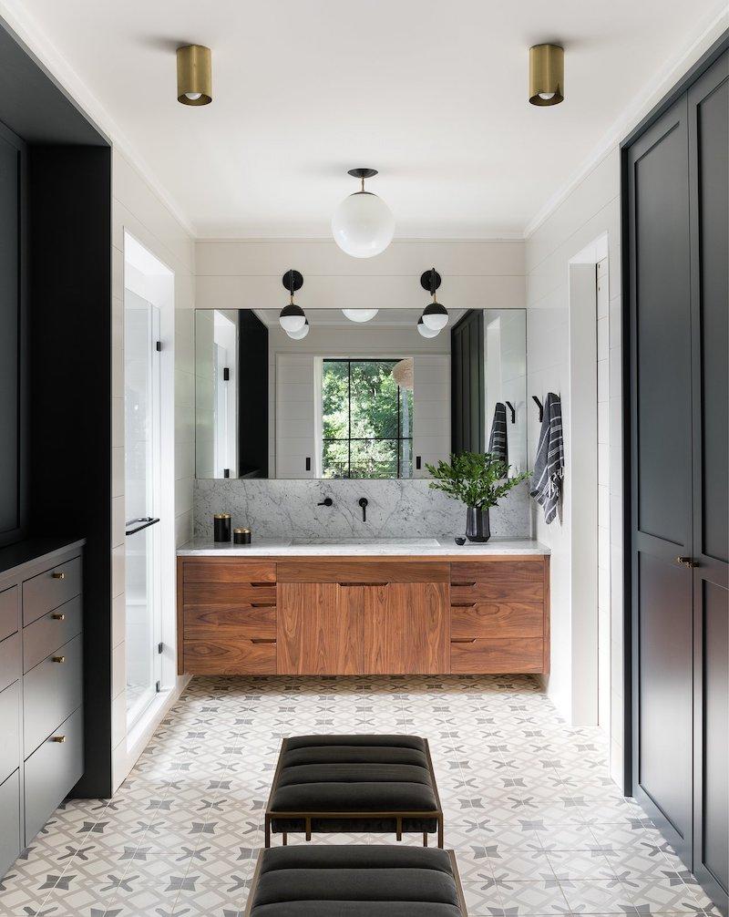 Una casa tradizionale dal cuore moderno