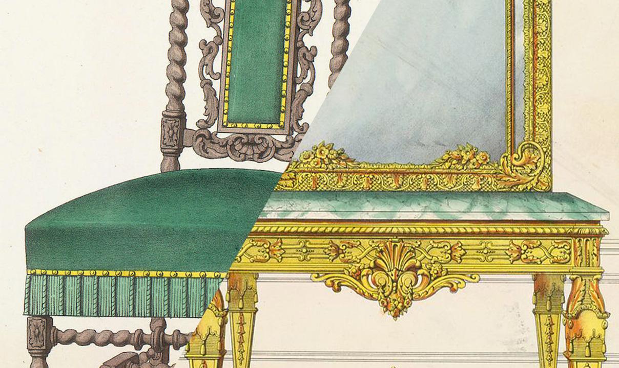 Lo stile Luigi XIII e lo stile Luigi XIV a confronto (parte 1)