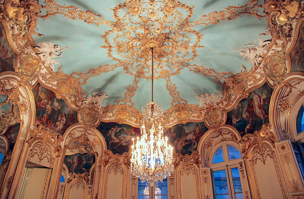 rococò Salon de la princesse -Hôtel de Soubise