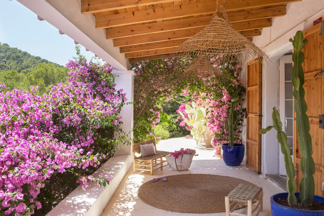 progetto fattoria abbandonata a Ibiza