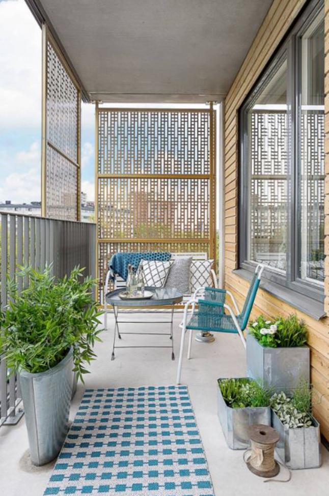 Consigli per arredare un balcone stretto e lungo | La ...